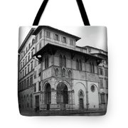 The Porch Of The Innocents Tote Bag