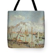 The Port Of Le Havre In The Afternoon Sun Tote Bag