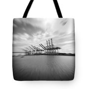 The Port Of Los Angeles Tote Bag