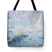 The Port Of Rotterdam Tote Bag