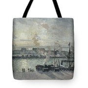 The Port Of Rouen Tote Bag
