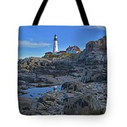 The Portland Lighthouse Tote Bag