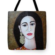 The Portuguese Earring 2 Tote Bag