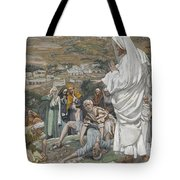The Possessed Boy At The Foot Of Mount Tabor Tote Bag