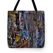The Poster Wall Tote Bag