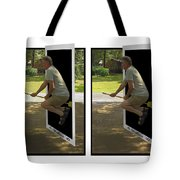 The Potter Effect - Gently Cross Your Eyes And Focus On The Middle Image Tote Bag