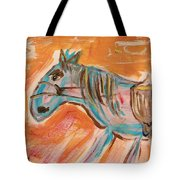 The Power Horse Tote Bag