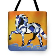 The Power Of Equus Tote Bag
