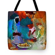 The Power Of Gold Tote Bag