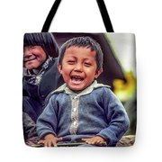 The Power Of Smiles Tote Bag