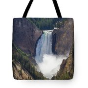 The Power Of Yellowstone Tote Bag