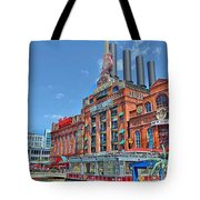 The Power Plant In The Baltimore Inner Harbor Tote Bag