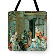 The Prayer Of The Faithful Tote Bag