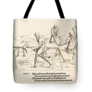 The Preparation Of The Cross Tote Bag