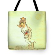 The Presentation Of Simba From Walt Disney's The Lion King Tote Bag