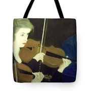 The Prettiest Violinist In The Orchestra Tote Bag