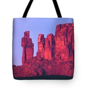 612717-the Priest And The Nuns  Tote Bag