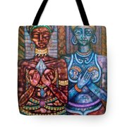 The Priestess Of The Occult Tote Bag