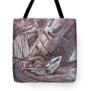 The Primary Upturn Tote Bag