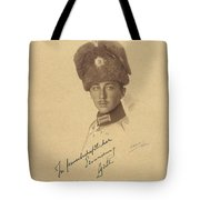 The Prince Kyrill  Of Bulgaria Tote Bag