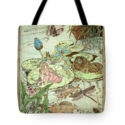 The Princess And The Frogs Tote Bag