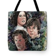 The Princess, The Knight And The Scoundrel Tote Bag
