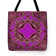 The Princesses Palace In Pink And Gold Tote Bag