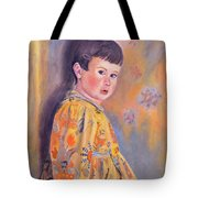 The Print Dress Tote Bag