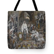 The Procession In The Streets Of Jerusalem Tote Bag