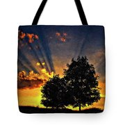 The Promise Impasto Paint Tote Bag
