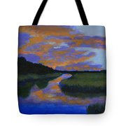 The Promise Of Night Tote Bag