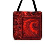 The Proper Victorian In Red  Tote Bag