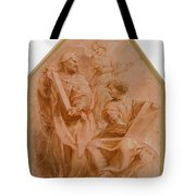 The Prophets David And Daniel Tote Bag
