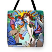 The Proposal Tote Bag by Anthony Falbo