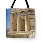 The Propylaia In Athens          The Propylaia - Vertical                                    Tote Bag