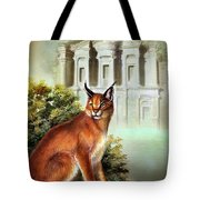The Protector Of The City Of Petra Tote Bag