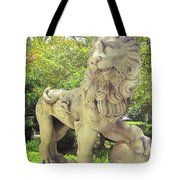 The Proud Lion  Tote Bag