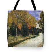 The Public Garden Tote Bag