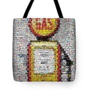 The Pump Mosaic Tote Bag