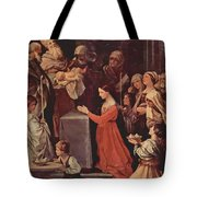 The Purification Of The Virgin 1640 Tote Bag