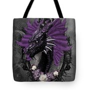 The Purple Dragon Tote Bag