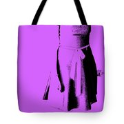 The Purple Dress Tote Bag