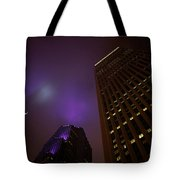 The Purple Fog Tote Bag