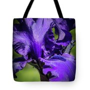 The Purple Show Tote Bag