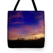 The Purple's Sunset Tote Bag