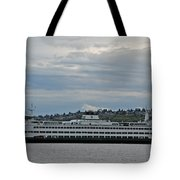 The Puyallup Ferry In Seattle Tote Bag