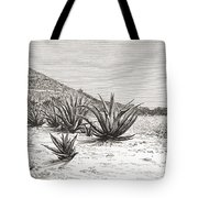 The Pyramid Of The Sun, Teotihuacan Tote Bag