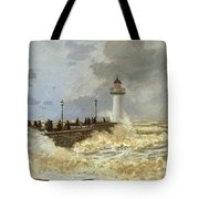 The Quay At Le Havre Tote Bag