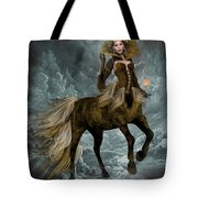 The Queen Horse Tote Bag