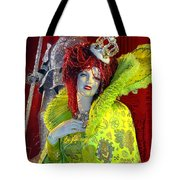 The Queen Of Fashion Tote Bag